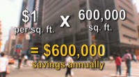new york times company building lighting controls cost savings