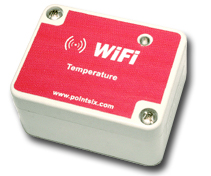 point six wifi temperature sensor with remote monitoring
