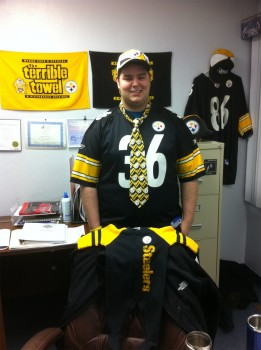 dru teel steeler fan from alaska