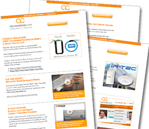 alpscontrols.com e-newsletters