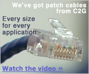 watch the c2g patch cables video on alpscontrols.com