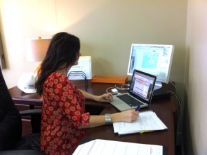 sarah jeffries of alpscontrols.com in her memphis tn sales office